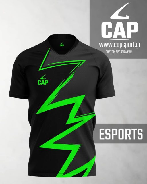 Create with us unique Esports Jerseys for your team! 💯  Custom design service at no extra charge! 💥  Check our website to discover more: https://www.capsport.gr/en/product-category/esports-jerseys-en/  #capsport #customsportswear #teamwear #sublimated #esportsjersey