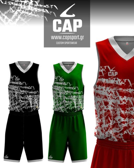 Unique custom sportswear for your team! 💥🏀 Choose high quality basketball apparel! 💯  Discover more on our website:  https://www.capsport.gr/product-category/basket/  #capsport #basketballteamwear #sublimated #sportswear #customdesigns