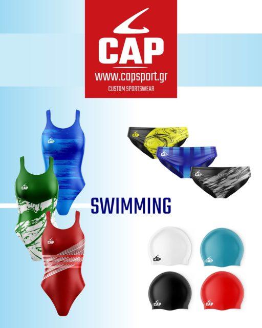 Ανακαλύψτε online τη Νέα Συλλογή Κολυμβητικών Μαγιό για άνδρες και γυναίκες 🏊♀️🤽♂️ από εξειδικευμένα αδιάβροχα υφάσματα, ανθεκτικά στο χλώριο. 💯   https://www.capsport.gr/product-category/swimming/  #capsport #customteamwear #swimmingtraining #waterpolo #sublimated #sportswear