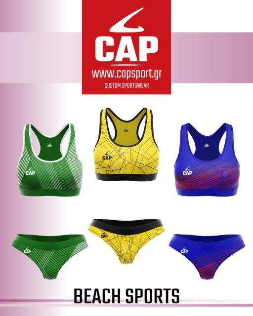 Νέα σεζόν με νέα αθλητικά μπικίνι παράκτιων αθλημάτων! 🏖🤾♀️   https://www.capsport.gr/product-category/beach-sports/   Σχεδιάζουμε μοναδικές εμφανίσεις για την ομάδα σας! 💯 Για περισσότερες πληροφορίες επικοινωνήστε μαζί μας: 📩 info@capsport.gr   #capsport #customteamwear #beachsports #athleticbikini #sublimatedsportswear #beachhandball #beachvolleyball
