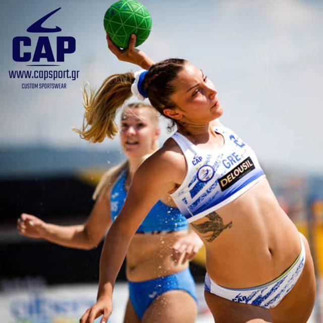 Συγχαρητήρια στις αθλήτριες της Εθνικής Γυναικών για την πορεία τους στο Ευρωπαϊκό Πρωτάθλημα Beach Handball 2021! 🇬🇷👏   #capsport #beachhandball #hellas #customsportswear #teamwear #beachsports